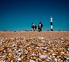 Day at the seaside by John Shingler