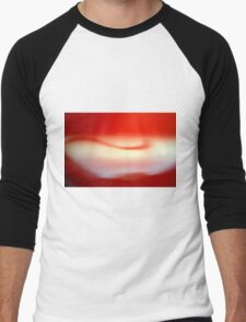 Abstract brilliant colorful abstract in red Men's Baseball ¾ T-Shirt
