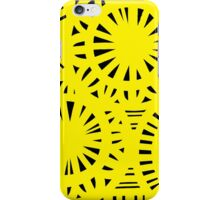 Diop Abstract Expression Yellow Black iPhone Case/Skin