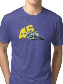 46 Valentino Rossi Tri-blend T-Shirt