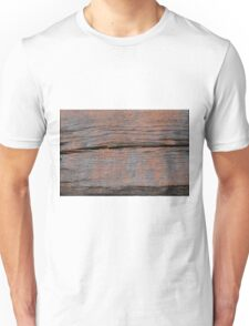 Abstract wood background  Unisex T-Shirt