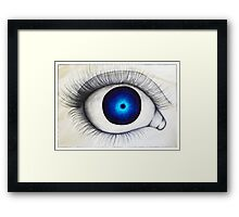 Eye Ball Framed Print
