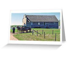 Kiew Hall, Ukrainian Cultural & Heritage Village, Alberta, Canada Greeting Card