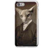 His Master is not happy iPhone Case/Skin