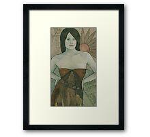 Laelia (detail) Framed Print