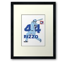 Chicago Cubs Anthony Rizzo Framed Print