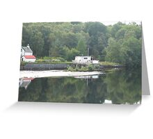 Caledonia Canal meets River Ness Greeting Card