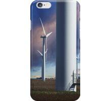 Wind Farm at Sunset iPhone Case/Skin