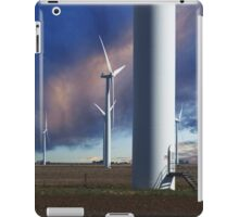 Wind Farm at Sunset iPad Case/Skin