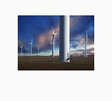 Wind Farm at Sunset Unisex T-Shirt