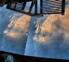 Rainy sky in rubbish bin by andreisky
