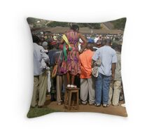 Cameroon soccer Throw Pillow
