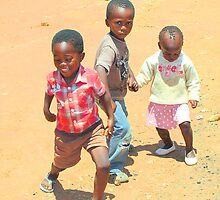 Children of Soweto by Carole-Anne