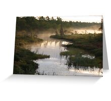 Early Morning Fog Greeting Card
