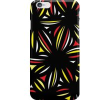 Miro Abstract Expression Yellow Red Black iPhone Case/Skin