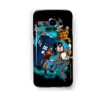 Doctor Moo vs the Baaleks and CyberHens Samsung Galaxy Case/Skin