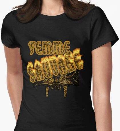 KAK Sudant - Femme Sauvage - take2 Womens Fitted T-Shirt