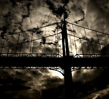 St Johns Bridge Portland Oregon by Designsbytami