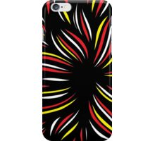 Hergenreter Abstract Expression Yellow Red Black iPhone Case/Skin