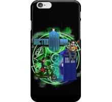 Doctor Moo and Clara -alt iPhone Case/Skin
