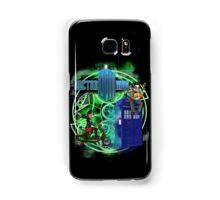 Doctor Moo and Clara -alt Samsung Galaxy Case/Skin