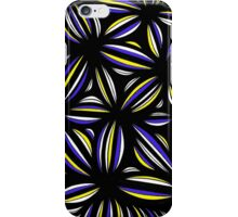 Sasala Abstract Expression Yellow Blue iPhone Case/Skin