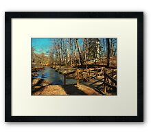Hopkins Pond Haddonfield NJ Framed Print