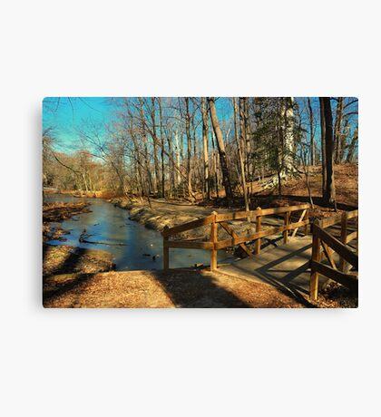 Hopkins Pond Haddonfield NJ Canvas Print