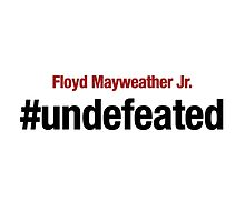 Undefeated, Floyd Mayweather by silverbrush
