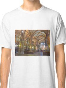 Inside Matthias Church, Budapest Classic T-Shirt