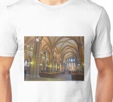 Inside Matthias Church, Budapest Unisex T-Shirt