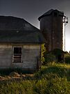 Silo (Backside) by Aaron Campbell