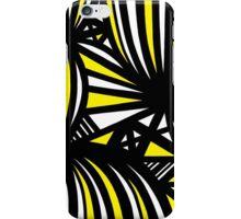 Nakasone Abstract Expression Yellow Black iPhone Case/Skin