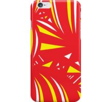 Gehr Abstract Expression Yellow Red iPhone Case/Skin