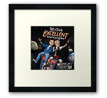 Bill & Ted's Excellent Honors Program (with rating) Framed Print