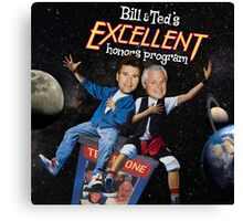 Bill & Ted's Excellent Honors Program Canvas Print