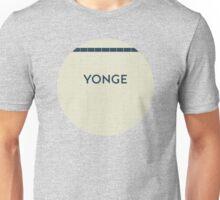 YONGE Subway Station Unisex T-Shirt