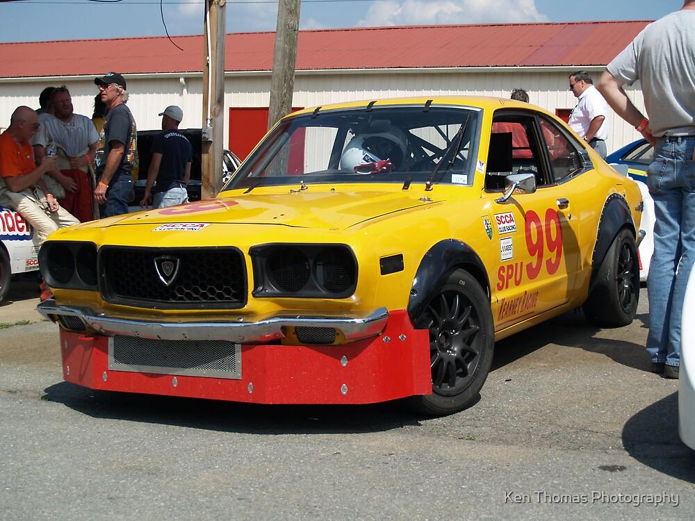 Mazda RX-3 Racer by Ken Thomas Photography