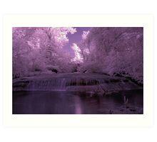 Dreamy waterfall Art Print