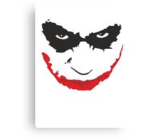 Joker - Dark Knight Canvas Print