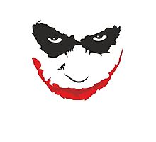 Joker - Dark Knight Photographic Print