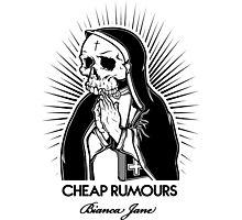 Cheap Rumours Black #3 Photographic Print