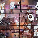 Altered Art Weaving Detail 2 by Dana Roper