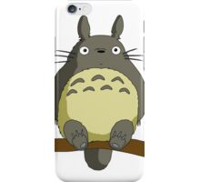 Totoro Lonely iPhone Case/Skin