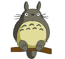 Totoro Lonely by JackCustomArt