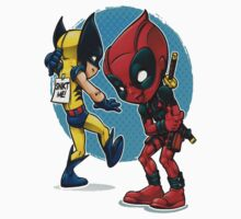 Deadpool and Wolverine Kids Clothes