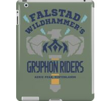 Falstad Wildhammer's Gryphon Riders iPad Case/Skin