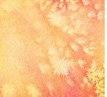 Red and yellow watercolor texture. by Lesya4ka