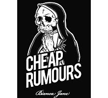Cheap Rumours White #1 Photographic Print