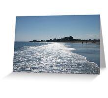 Charlestown Beach, RI Greeting Card